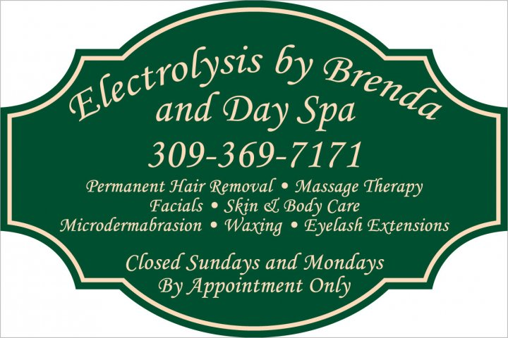 Electrolysis by Brenda and Day Spa, 6704 W. Lamoine St., Peoria, IL., 61604